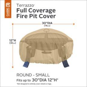 Terrazzo Small Round Fire Pit Cover