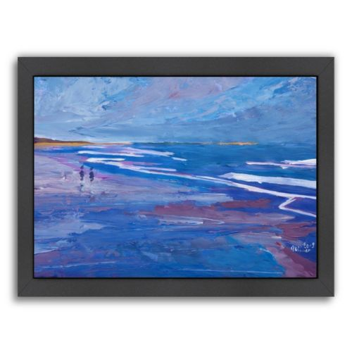 "Americanflat ""Seascape 2"" Framed Wall Art"