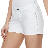Women's Jennifer Lopez Beaded Jean Shorts