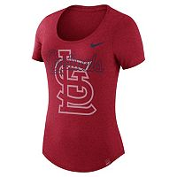 Women's Nike St. Louis Cardinals Burnout Dri-FIT Tee