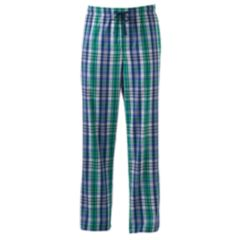 Mens Green Plaid Pajama Bottoms - Sleepwear, Clothing | Kohl's