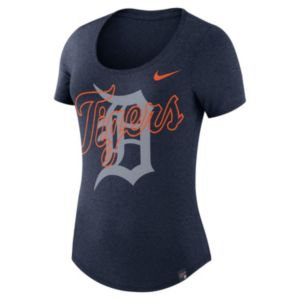 Women's Nike Detroit Tigers Burnout Dri-FIT Tee