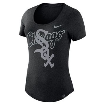 Women's Nike Chicago White Sox Burnout Dri-FIT Tee