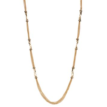Dana Buchman Long Chain Link Station Necklace