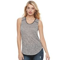 Women's Juicy Couture Marled Scoopneck Tank