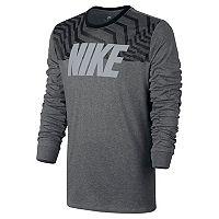 Men's Nike Long-Sleeved Graphic Tee