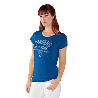 Women's New York Rangers End Zone Tee