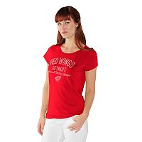 Women's Detroit Red Wings End Zone Tee