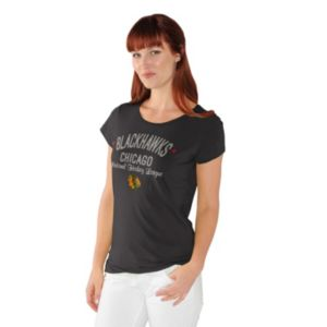 Women's Chicago Blackhawks End Zone Tee