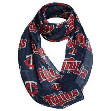 Women's Forever Collectibles Minnesota Twins Logo Infinity Scarf