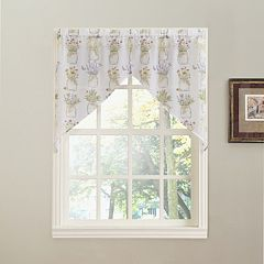 No918 Eves Garden Swag Window Valance