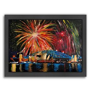"Americanflat ""Sydney Silvester"" Framed Wall Art"