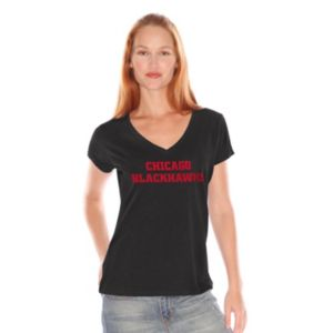 Women's Chicago Blackhawks Fair Catch Tee