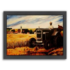 "Americanflat ""The Farmer"" Framed Wall Art"