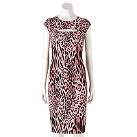 Women's Jennifer Lopez Cutout Sheath Dress