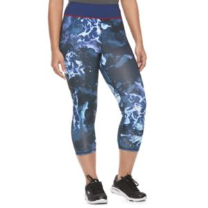 Juniors' Plus Size Her Universe Superman Galaxy Print Capris by DC Comics