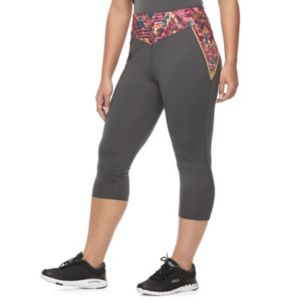 Juniors' Plus Size Her Universe Wonder Woman Graphic Print Capris by DC Comics