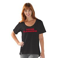 Women's Chicago Blackhawks Varsity Tee