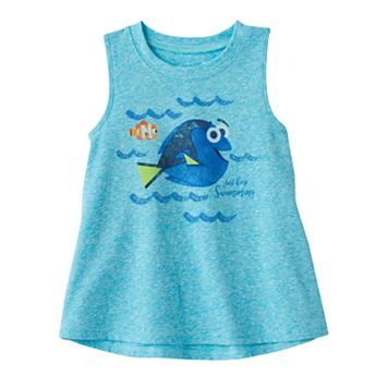 Disney's Finding Dory Toddler Girl Graphic Swing Tank Top by Jumping Beans®