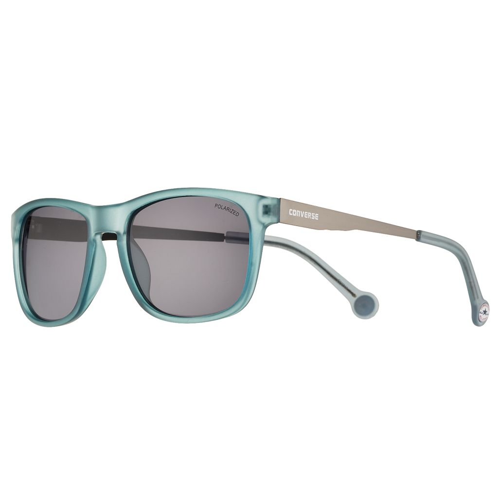 Converse H058 56mm Chuck Taylor Polarized Square Sunglasses
