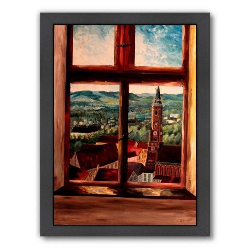 "Americanflat ""Trausnitzfenster"" Framed Wall Art"