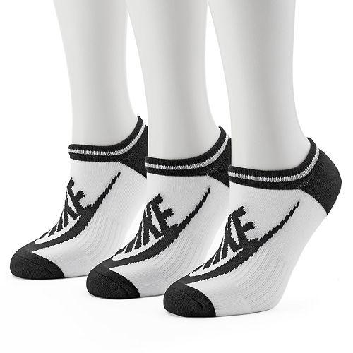 Women's Nike 3-pk. Striped No-Show Socks