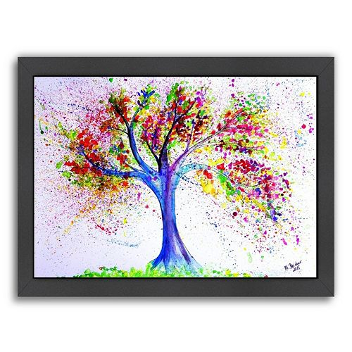 "Americanflat ""Tree Of Life"" Framed Wall Art"