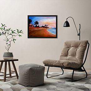 """Americanflat """"Varadero  2"""" Framed Wall Art"""
