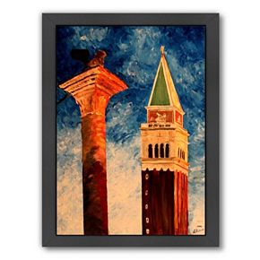 "Americanflat ""Venice Campanile"" Framed Wall Art"