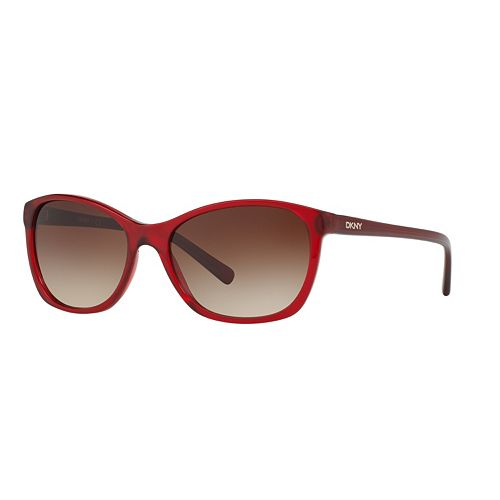 DKNY Essentials DY4093 56mm Square Gradient Sunglasses