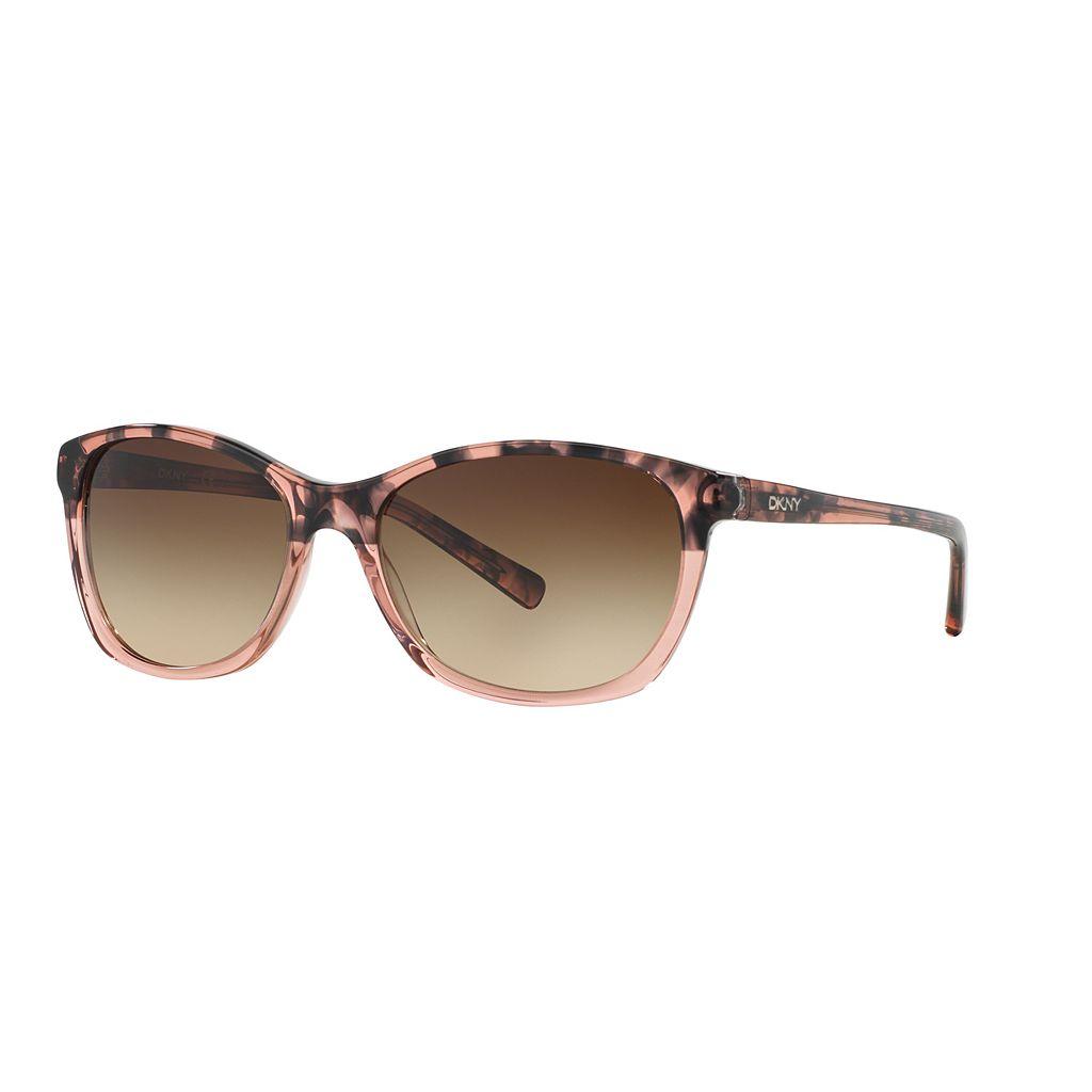 DKNY Essentials DY4093 56mm Square Gradient Sunglasses