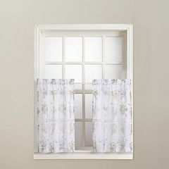 No918 Eves Garden Tier Curtain Set