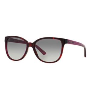DKNY Downtown Edge DY4129 57mm Square Gradient Sunglasses