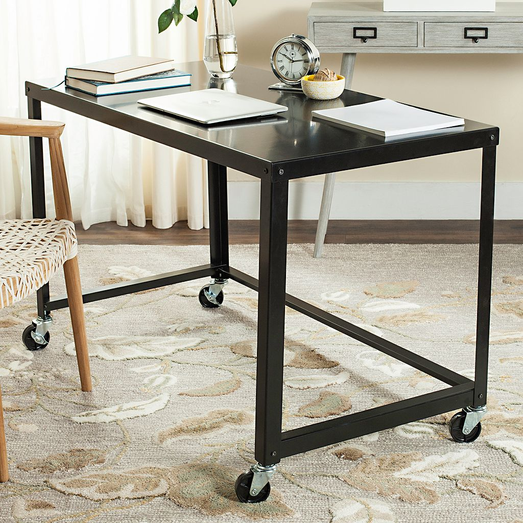Safavieh Contemporary Industrial Rolling Desk