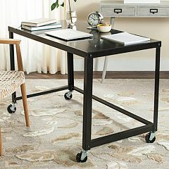 Safavieh Contemporary Industrial Rolling Desk