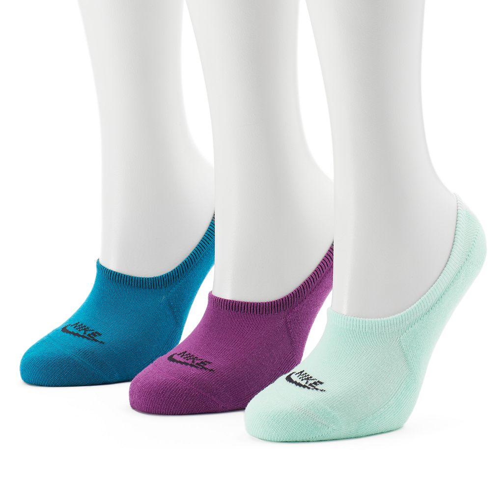 Women's Nike 3-pk. No-Show Footie Socks
