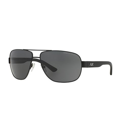 Armani Exchange Urban Attitude AX2012S 62mm Aviator Sunglasses