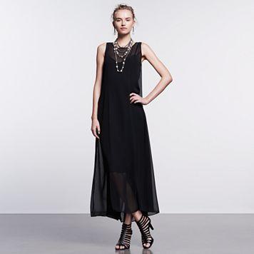 Women's Simply Vera Vera Wang Simply Noir Maxi Dress