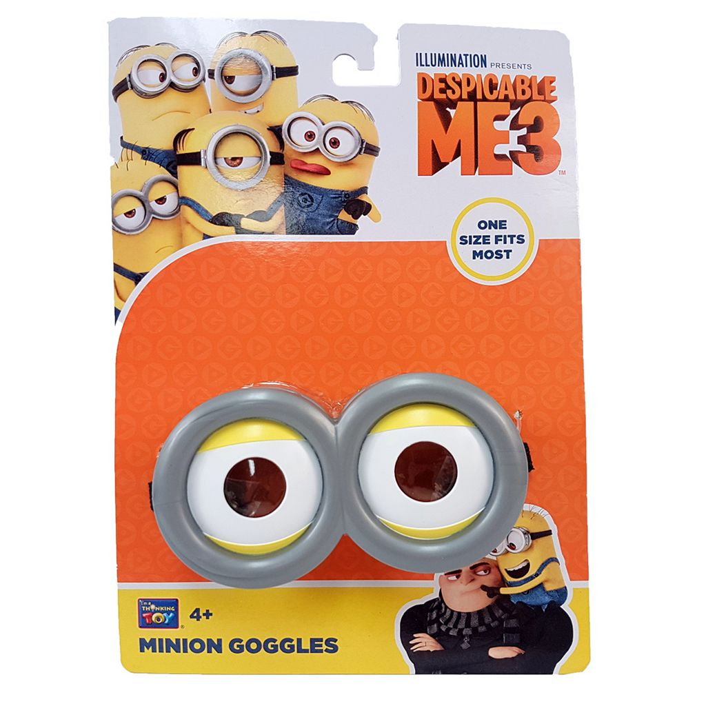 Despicable Me 3 Minion Goggles