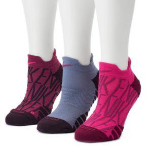 Women's Nike 3-pk. Dri-FIT Cushioned Low-Cut Socks