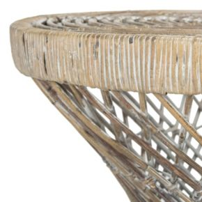 Safavieh Bowed Wicker Coffee Table