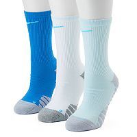 Women's Nike 3 pkDri-Fit Cushioned Crew Socks