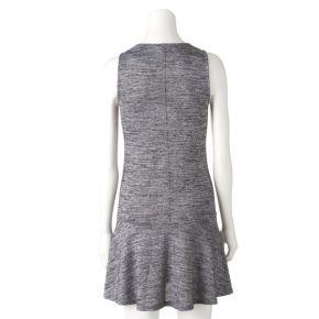 Women's Juicy Couture Marled Drop Waist Dress