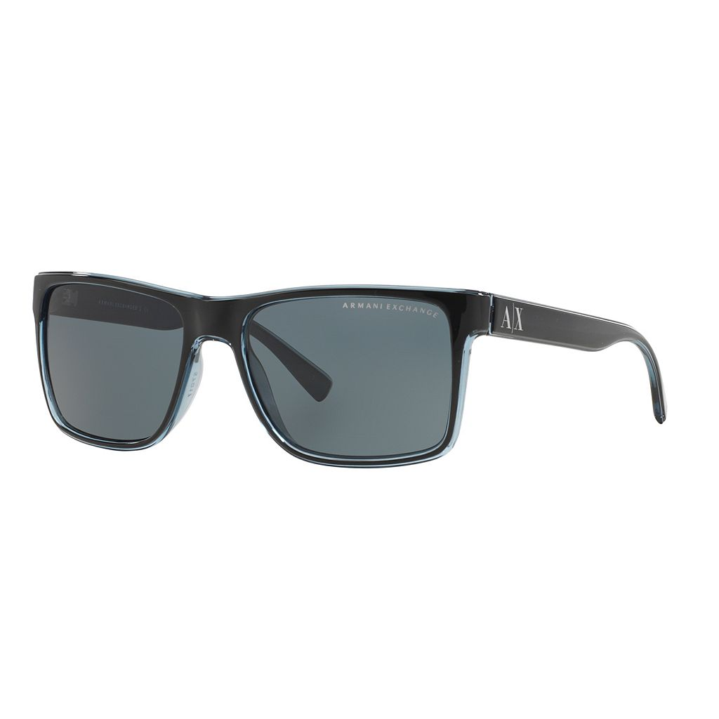 Armani Exchange Forever Young AX4016 57mm Square Sunglasses