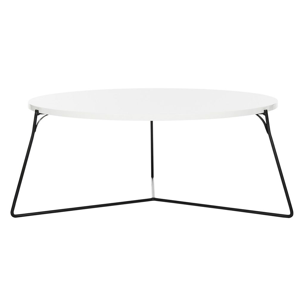 Safavieh Modern Contemporary Round Coffee Table