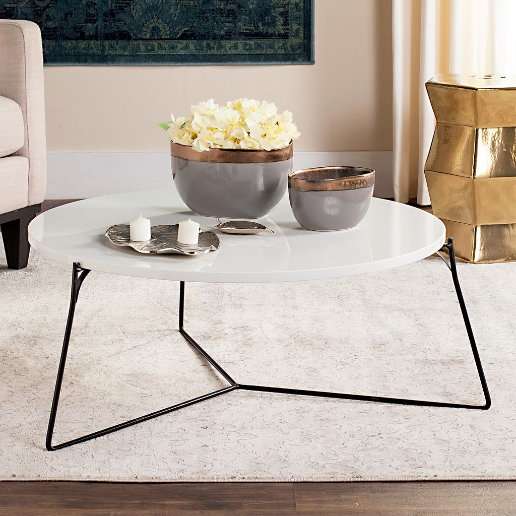 Safavieh Modern Contemporary Round Coffee Table