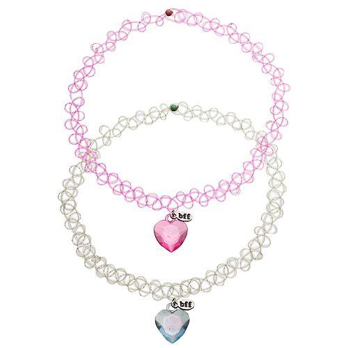Girls 5-16 BFF Best Friends Necklace Set