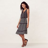 Women's LC Lauren Conrad Print Midi Dress