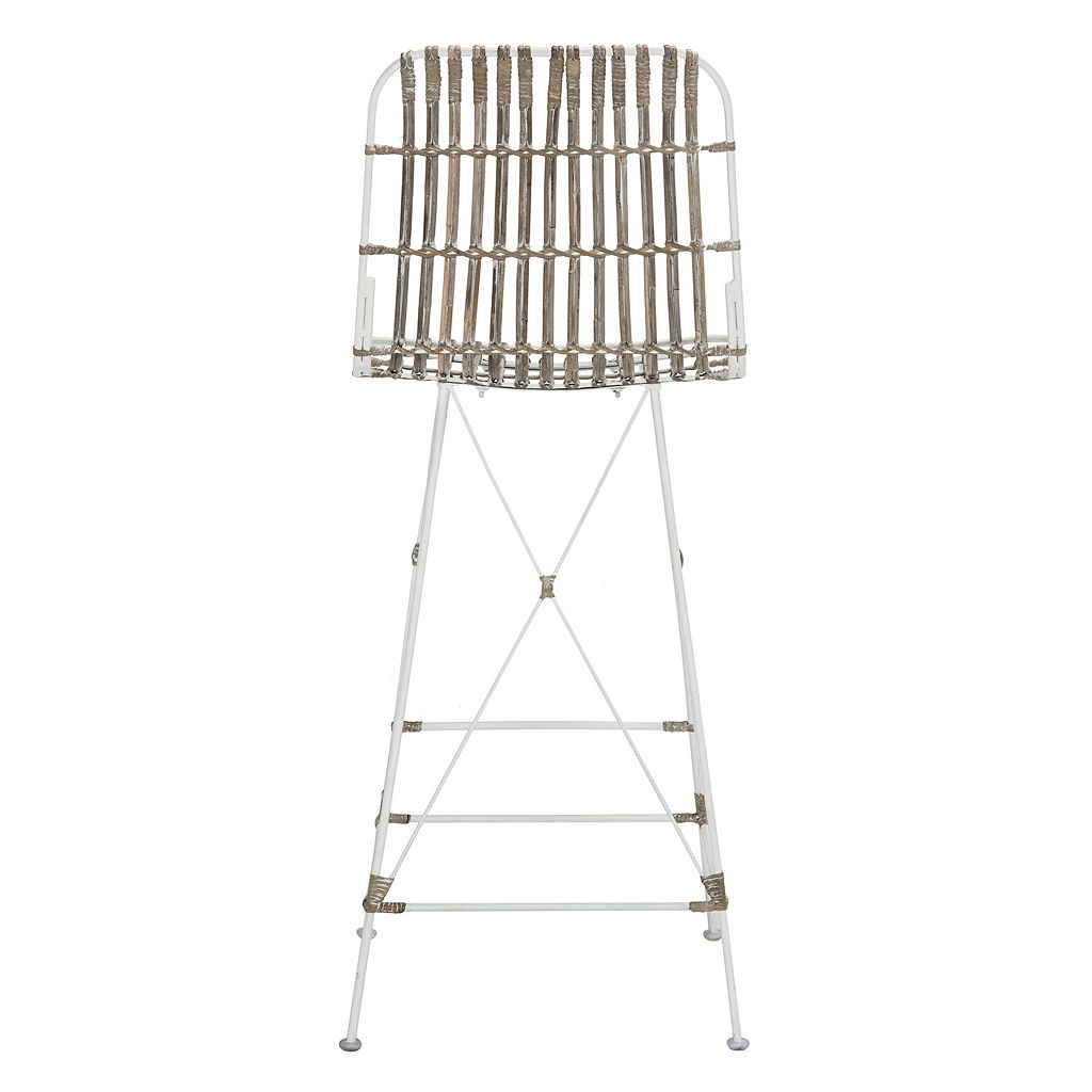 Safavieh Wicker Bar Stool 2-piece Set