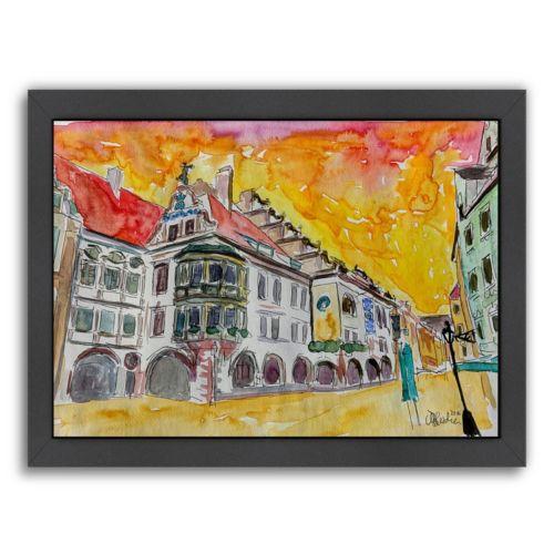 """Americanflat """"Munich"""" Framed Wall Art"""
